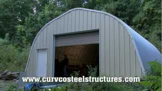 Steel Building Kit Workshop, Mancave By Curvco Steel Buildings