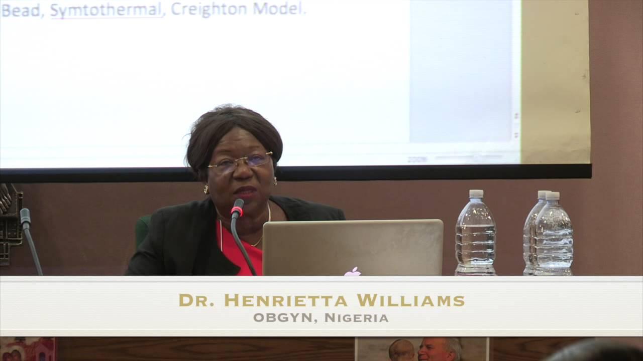 Dr  Henrietta Williams: Catholic Gynaecology in Nigeria