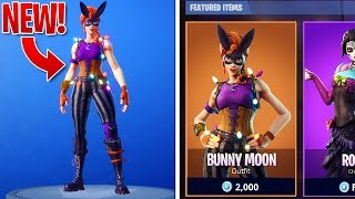 *NEW* LEAKED SKINS in Fortnite! - BunnyMoon Skin & GALAXY Skin Set! (Fortnite Battle Royale)