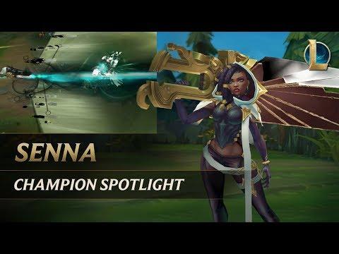 Champion Spotlight: Senna | Gameplay – League of Legends