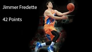Jimmer Fredette CBA Debut! | 42 Points | CBA 2016-17
