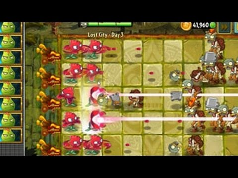 เกมส์พืชปะทะซอมบี้ 2: เมืองที่หายไป - วันที่ 3