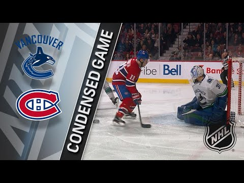 01/07/18 Condensed Game: Canucks @ Canadiens