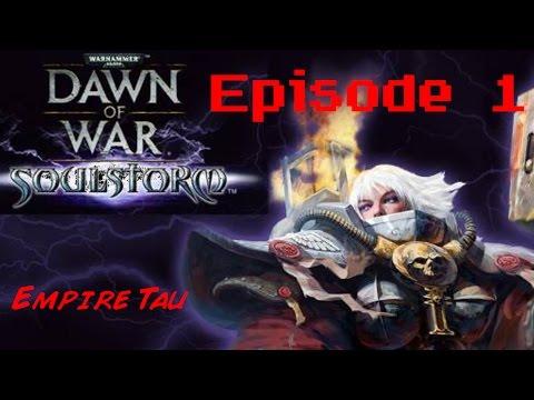 ON EST CAPTURE !!! | Dawn of war soulstorm PC (ep 1)