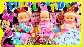 Fiesta de Cumpleaños de Alice Bebés Nenuco Hermanitas Traviesas con Regalos Sorpresa Minnie