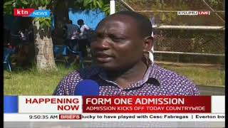 Form one admission kicks off today countrywide