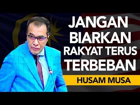 Dewan Negara 2018 : Perbahasan Dato Husam Musa