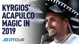 Gambar cover Kyrgios' Magic Acapulco Run   THE BEST OF   ATP
