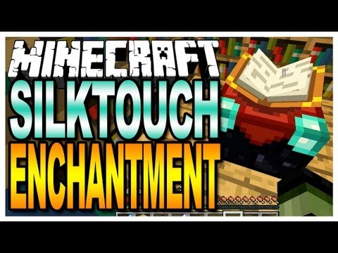 Minecraft - Silktouch Enchantment (Map Giveaways in the