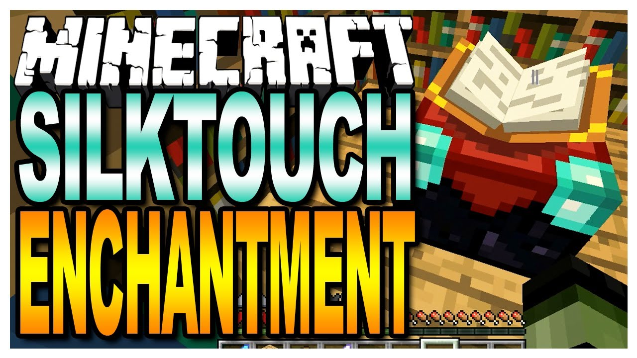 Minecraft Silktouch Enchantment Map Giveaways In The Description