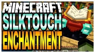 Minecraft - Silktouch Enchantment (Map Giveaways in the Description)