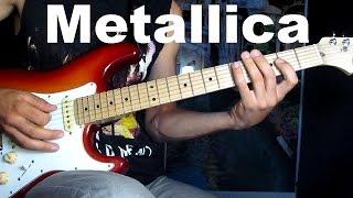 Простой перебор на гитаре Metallica - Fade to Black