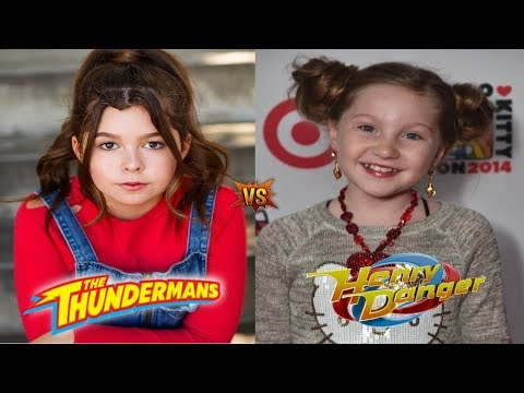 Nora Thunderman VS  Piper Hart [ I Thunderman VS Henry Danger ]