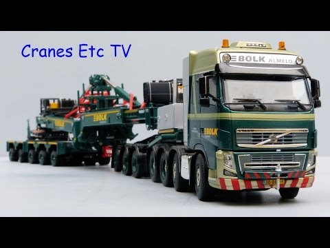 WSI Volvo FH + Nooteboom MWT 'Bolk' by Cranes Etc TV