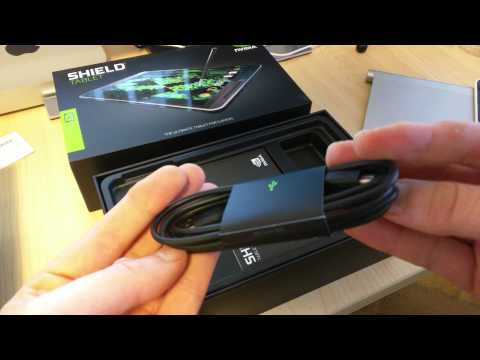 Nvidia Shield Tablet 32gb 4G LTE Bundle Unbox Australia 4K