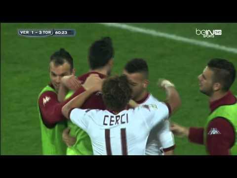 But de Omar el Kaddouri contre Verona