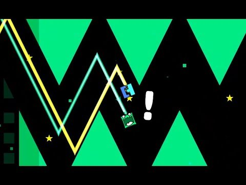 Geometry dash Multiplayer (2-Player) l with Partition