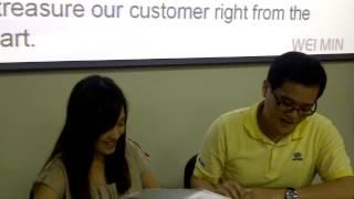 英語狀元湯尼陳老師感恩台中大雅維明公司李董提供兩年教學工作機會 員工進修成果佳