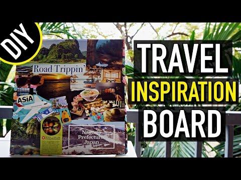 DIY: TRAVEL INSPIRATION BOARD