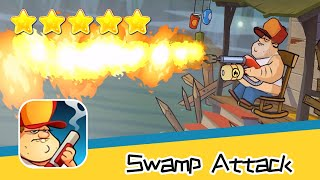 Swamp Attack Episoed 2 Level 17 Walkthrough Defend Survive Attack! Recommend index five stars