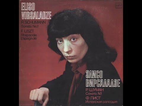 Eliso Virsaladze in recital (1980) - Schumann & Liszt