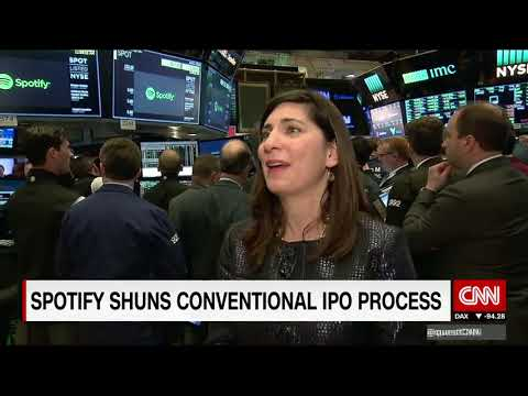 On The NYSE Floor During Spotify's IPO Mp3
