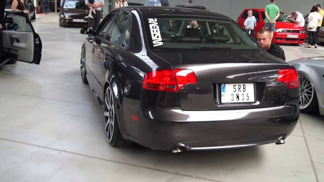 Audi A4 Air Suspension Zawieszenie Pneumatyczne Youtube