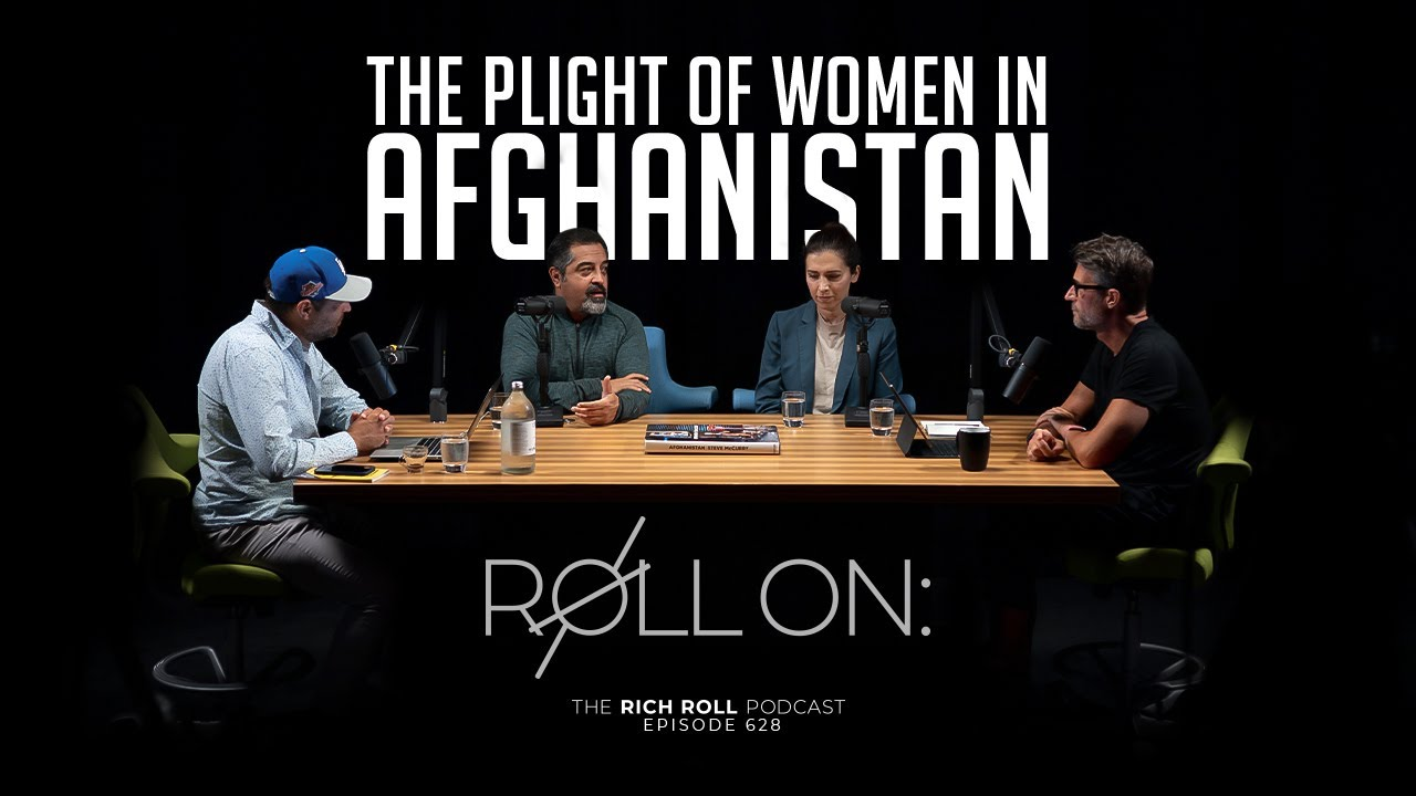 Progress is FRAGILE: The Plight of Women in Afghanistan | Rich Roll Podcast