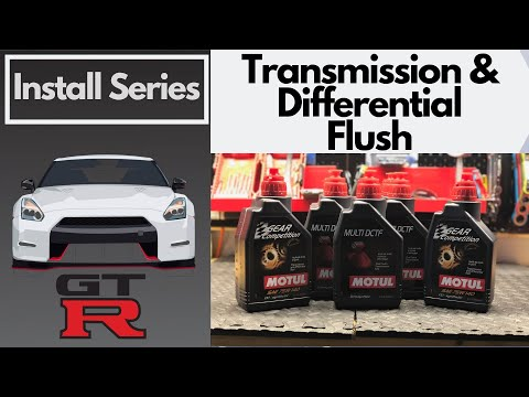 Transmission & Differential Fluid Flush - Nissan GTR - DEALER WANTED HOW MUCH????