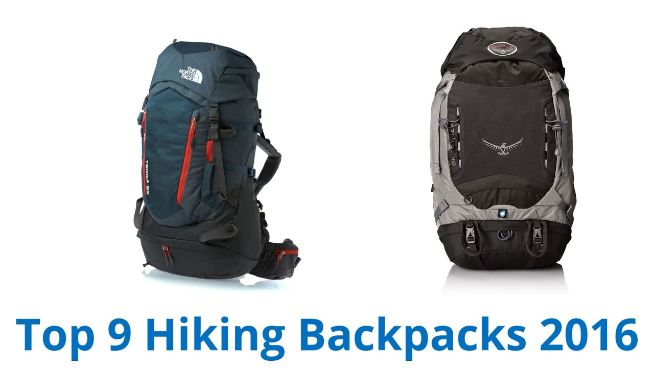 9 Best Hiking Backpacks 2016 - YouTube
