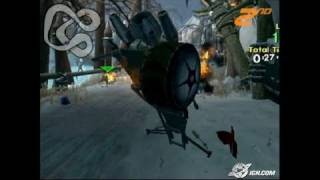 Jak X: Combat Racing PlayStation 2 Gameplay - Snow fight