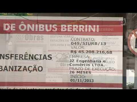 Terminal de ônibus da Berrini começa a funcionar