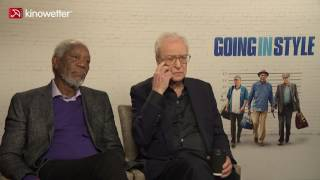 Interview Morgan Freeman &  Michael Caine GOING IN STYLE