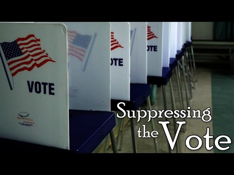 Suppressing the Vote | Disenfranchisement