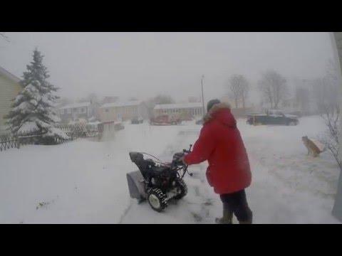 St.John's  Snow Storm April 2016