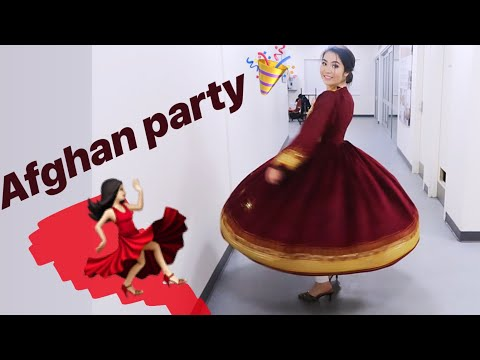 AFGHAN PARTY - DANCE / TRADITIONAL FOODS