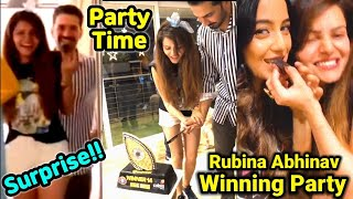 Rubina Dilaik gets pleasantly surprised with bestie Srishty Rode's party | Checkout a sneak peek