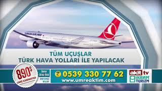 UmreAktim Akit TV  & İkram Turizm Ortak Programı