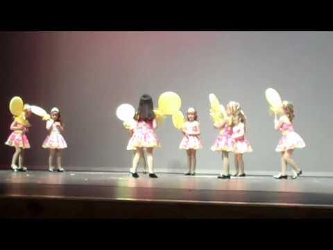 Sofia's ballet recital- Lollipop