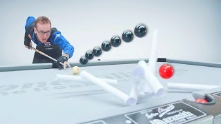 IMPOSSIBLE POOL TRICK SHOTS
