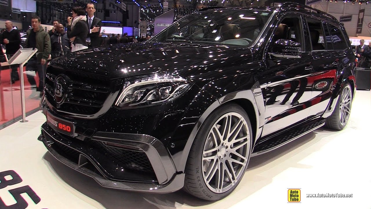 2017 Mercedes Amg Gls63 Brabus 850 Exterior And Interior