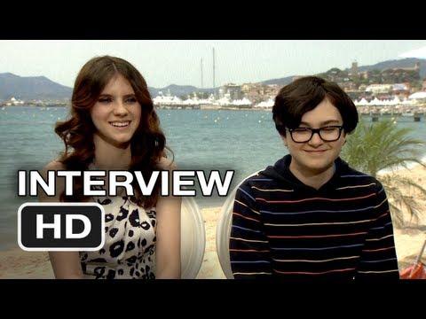 Moonrise Kingdom Interview  Kara Hayward, Jared Gilman 2012 HD