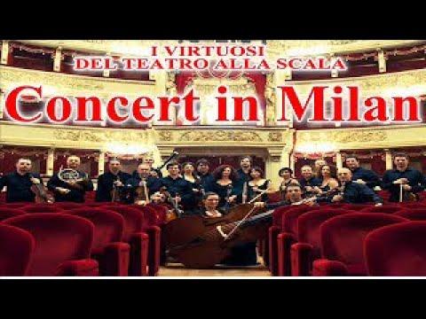 I Virtuosi del Teatro alla Scala - Live in Milan (Mozart, Tchaikosvky, Bottesini) | Classical Music
