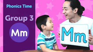 Group 3: Mm | Phonics Time with Masa and Junya | Made by Red Cat Reading