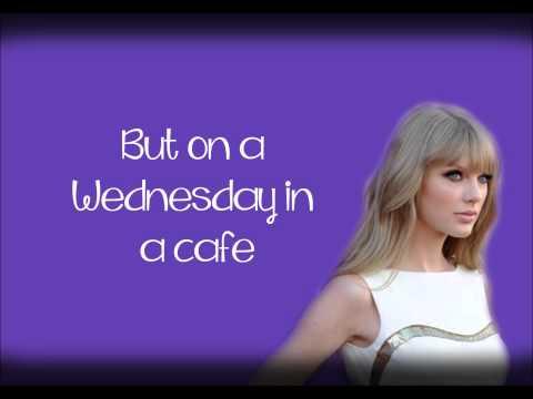 Begin Again - Taylor Swift - Onscreen Lyrics