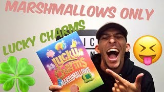 Lucky Charms Marshmallow Only Unboxing