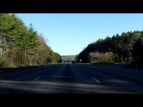 Interstate 495 - Massachusetts (Exits 22 to 25) northbound