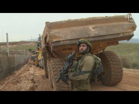 אחרי האיומים מחיזבאללה: ישראל חידשה את בנייה החומה בגבול לבנון