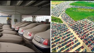 Wo Enden Die Unverkauften Autos? Hier Die Beeindruckende Fotos Der Autofriedhöfe