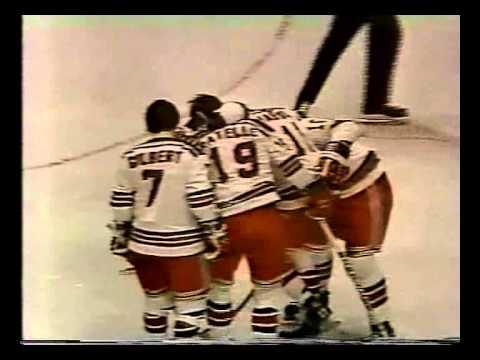 Philadelphia Flyers vs NY Rangers. 25 April 1974